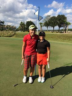 Izzy M. Pellot had a great time playing with Manon Donche-Gay (14-19 division) at the Junior Open at Champions Gate