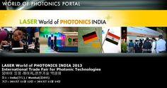 LASER World of PHOTONICS INDIA 2013 International Trade Fair for Photonic Technologies 뭄바이 응용 레이저,광전기술 박람회