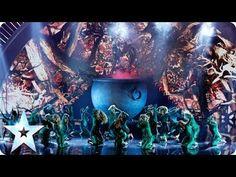 The Addict Initiative battle it out   Britain's Got Talent 2014 Final - YouTube