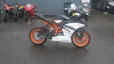 Another superb KTM RC390 on its way to a new home