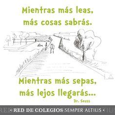 Más cosas sabrás... #Dr.Seuss #Lectura #SemperAltius