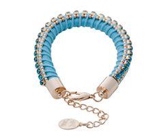 Blue Rubbing Shoulders bracelet by 8 Other Reasons - $34