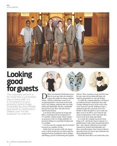 Our Fashionizer Couture Uniforms in Hospitality Business Middle East.