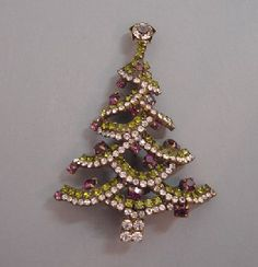 christmas tree brooch - Bing Images