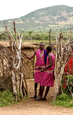 I have been lucky enough, to have visited the home of Masai, what an experience.
