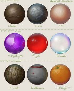 """набор тем-текстур для того, как """"можно"""" отображать игрока - движущийся шар-сфера"""