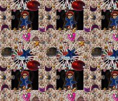 image fabric by la_catrina_ on Spoonflower - custom fabric