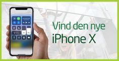 Vind den nye iPhone X!