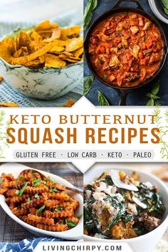 Is butternut squash keto? Find the answers to how this classic fall vegetable can fit into your keto diet, what its nutritional value is – with 11 keto butternut squash recipes to try out too! #recipe #keto #ketorecipes #ketodietrecipes #ketodietforbeginners #ketorecipeseasy #ketorecipesdinner #lowcarbrecipes #lowcarbdinner #easyrecipe #easydinnerideas #easydinnerrecipes #glutenfree #glutenfreerecipes #easylowcarbrecipes Low Carb Butternut Squash Recipe, Acorn Squash Recipes, Low Carb Side Dishes, Side Dish Recipes, Recipes Dinner, Kitchen Recipes, Paleo Recipes, Thanksgiving Recipes, Holiday Recipes
