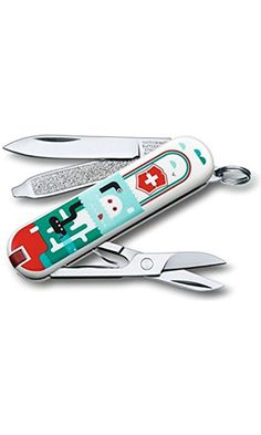 Victorinox Classic Swiss Army Pocket Knife, Sea World, SMALL Best Price