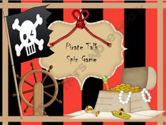 Bossy R /ar/ Spin Game. You can find the whole /ar/ pirate unit at Teacher's Notebook. I'm super excited for this one!