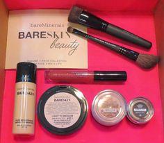 QVC's bareMinerals TSV - Fall 2014 #tsv #qvc #bareminerals #fall #makeup #cosmetics #bareskin #blush #eyeshadow #mineralveil #brush #blushbrush #eyeshadowbrush #marvelousmoxie #moxie #lipgloss #bargain