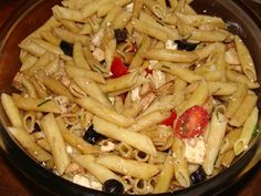 Pasta Salad, Food And Drink, Meat, Chicken, Ethnic Recipes, Cold Chicken Salads, Chicken Breasts, Chopped Salads, Cooking Recipes