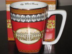 White House Porcelain Mug Historical Association in Box