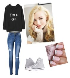 """Untitled #13"" by julle-fangirl on Polyvore featuring Converse"