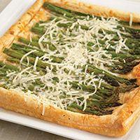 Estancia | Pepperidge Farm Puff Pastry Recipes & Pairings | Meyer Lemon-Asparagus Galette