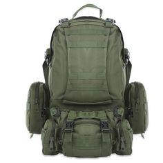 9651499d91 Tactical Camouflage Backpack HUGE 50L for Outdoor Sport