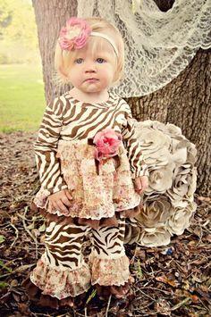 HB Fall Vintage Zebra 2 Piece SetNewborn to 4TNow in Stock!