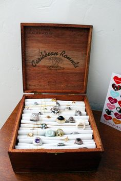 DIY Cigar Box Ring Holder