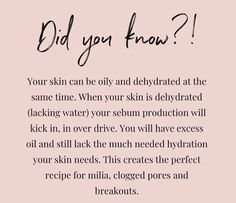 Skin Tips, Skin Care Tips, Beauty Care, Beauty Skin, Love Your Skin, Face Skin Care, Health And Beauty Tips, Beauty Quotes, The Body Shop