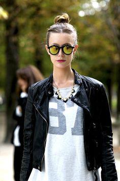 Kreative Sonnenbrillen-Trends. Mehr gibt's im Artikel.