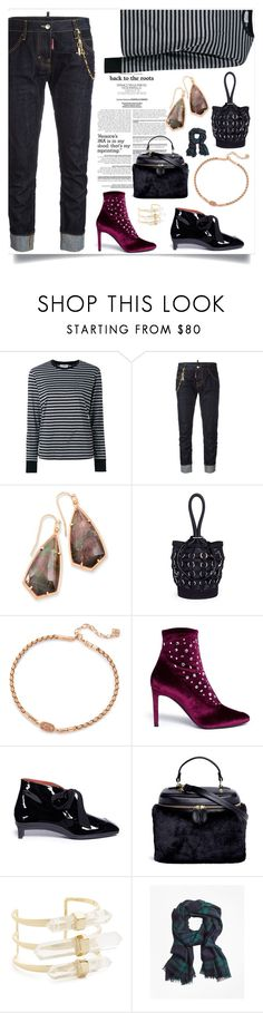 """Fashion trends"" by denisee-denisee ❤ liked on Polyvore featuring Vis-à-Vis, Dsquared2, Kendra Scott, Alexander Wang, Giuseppe Zanotti, 3.1 Phillip Lim, Vasic, Alexis Bittar and Brooks Brothers"