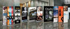 Retractable Banner Stands All Sizes. Free ground shipping inside the U.S.