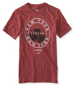 Kids' NY Brklyn Circle Graphic T -