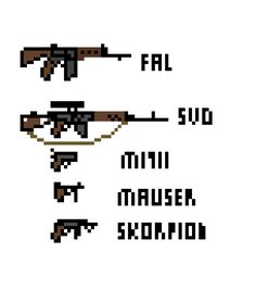 """pixel art pistol""的图片搜索结果"