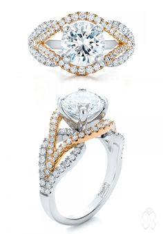 31 Awe-Inspiring Halo Engagement Rings | Joseph Jewelry - #JosephJewelry | Bellevue | Seattle