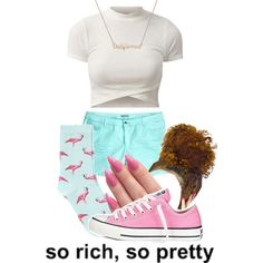 So Rich, So Pretty by skye-autumn on Polyvore featuring H&M, Oasis and Converse