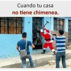 Cuando tu casa no tiene chimenea Wtf Funny, Funny Jokes, Best Memes, Dankest Memes, Mundo Meme, Funny Images, Funny Pictures, Mexican Memes, Spanish Memes