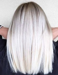 Platinum Blonde Hair Colors Trends Spring/Summer 2018