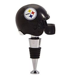 NFL Pittsburgh Steelers Football Helmet Collection Wine Bottle Stopper >>> Continue to the product at the image link.
