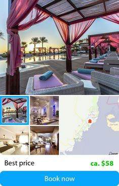 SUNRISE Grand Select Arabian Beach Resort (Shark's Bay, Egypt) – Book this hotel at the cheapest price on sefibo. All Over The World, Around The Worlds, Shark S, Great Hotel, Beach Resorts, Best Hotels, The Selection, Pergola, Sunrise