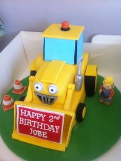 Bob the builder By Gempants on CakeCentral.com