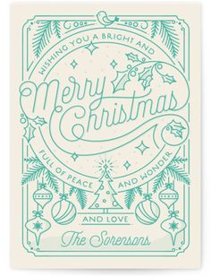 Merry Little Lines Holiday Petite Cards