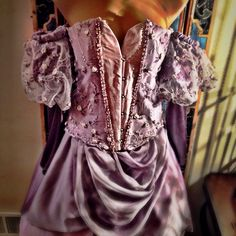 Completed custom order created by All Tied Up Corsetry inspired by The Last Unicorns Lady Amalthea ❤️
