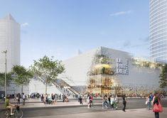 La Part Dieu shopping center in Lyon by MVRDV