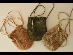 Crochet Handbags, Crochet Purses, Crochet Bags, Crochet Clutch Pattern, Crochet Pouf, Crochet Pencil Case, Crochet Designs, Crochet Patterns, Crochet Bag Tutorials