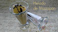 #receta #helado #mazapán #icecream #marzapan, paso a paso en el #blog