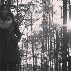 Just returned from my morning walk, where I was gifted a Barred Owl crossing my path, about eye level. :::::: :::::: Bright morning stars are rising Bright morning stars are rising Bright morning stars are rising Day is a breaking in my soul.  #adornyoursoul #sacredstylist #forestfashion #sacredsong #folkloric #walkingaltar