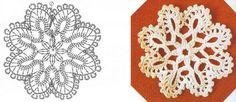 Aprendiz de Crocheteiras: Flocos de Neve - Natal & Crochê