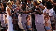 Naomi Watts op de première van DIANA (Oliver Hirschbiegel) in London.