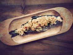 love affair on a plate: Pstrąg w migdałach na klarowanym maśle Love Affair, Trout, Mexican, Plates, Almonds, Ethnic Recipes, Food, Licence Plates, Dishes