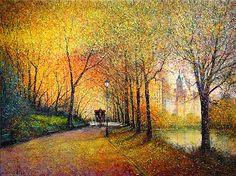 Guy Dessapt | Paris Autumn | French Painter | 1938