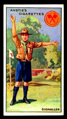 Cigarette Card - Scout Series #20