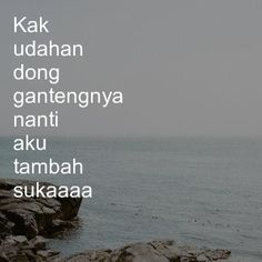 Quotes Lucu, Jokes Quotes, Me Quotes, Qoutes, Funny Quotes, Funny Memes, Flirty Captions, Drama Quotes, Quotes Indonesia