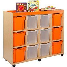 Bubblegum+12+Jumbo+Tray+Storage+Unit  www.officefurnitureonline.co.uk