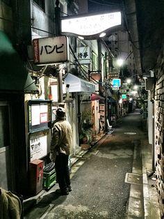 Shinjuku Golden-gai (the cheep bars area), Tokyo